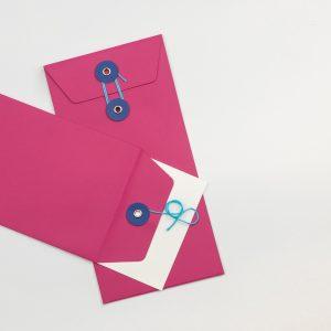 Envelope DL C/fio Rosa